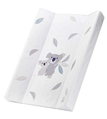Rotho Babydesign Cambiador con cuña, 0+ Meses, Adorable diseño de koala, Bella Bambina, 20099 0001 CQ, blanco