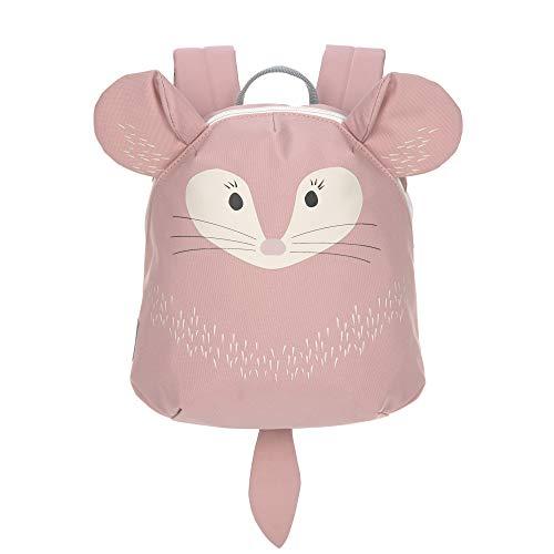 LÄSSIG About Friends Tiny Backpack Mochila infantil pequeña para el jardín de infancia con correa para el pecho a partir de 2 años, 24 cm, 3,5 L, Chinchilla