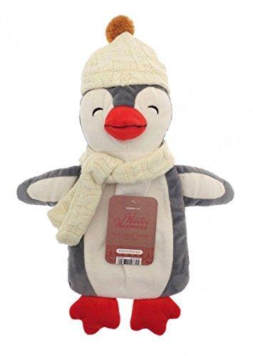 Botella de agua caliente, Calentador de invierno para niños 3D de 1l, pingüino