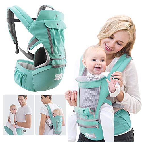 360 portabebés 4 en 1 para recién nacidos con asiento de cadera, 360 posiciones, asientos ergonómicos para recién nacidos
